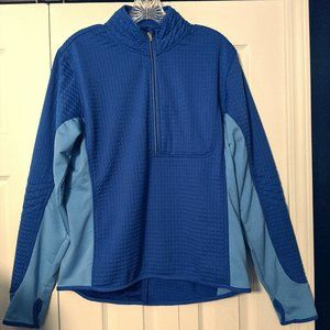 NIKE WOMENS JACKET LARGE ACTIVE THERMAL BLUE ATH
